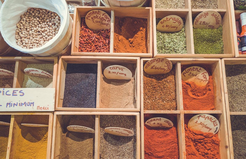 Las 10 especias que no deben faltar en tu cocina